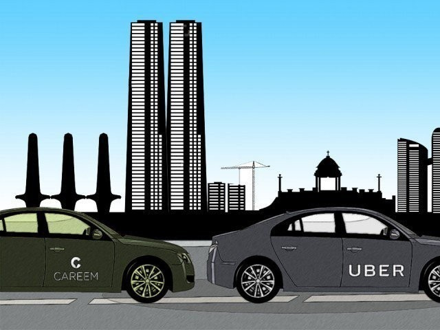 Sindh Govt mulls banning Uber Careem PHOTO: FILE