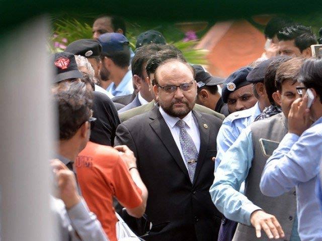 Joint Investigation Team (JIT) head, Wajid Zia PHOTO: FILE