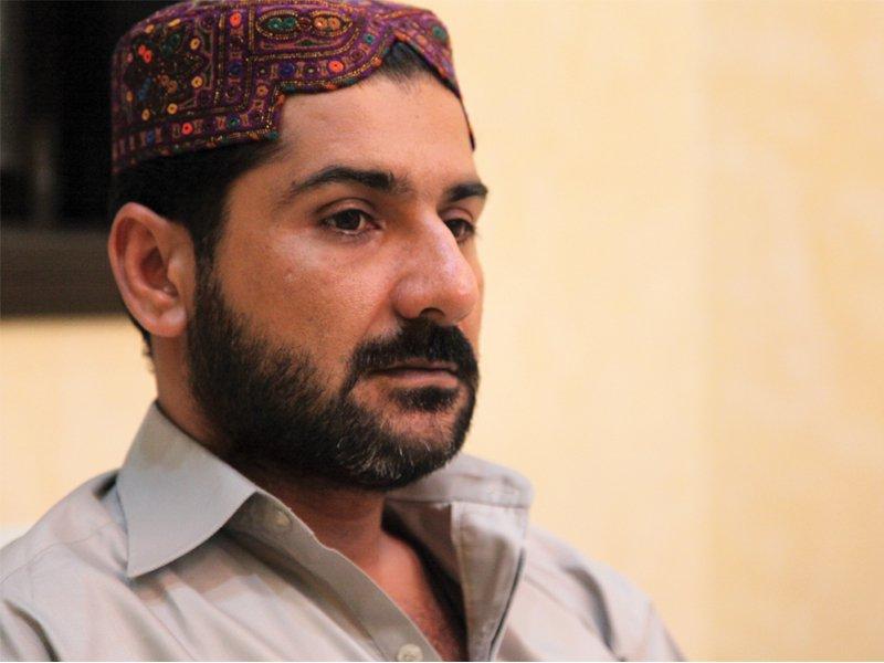 Uzair Baloch. PHOTO: EXPRESS/FILE