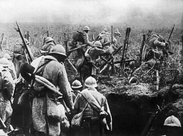 French soldiers in November 1916 in Verdun. PHOTO: AFP