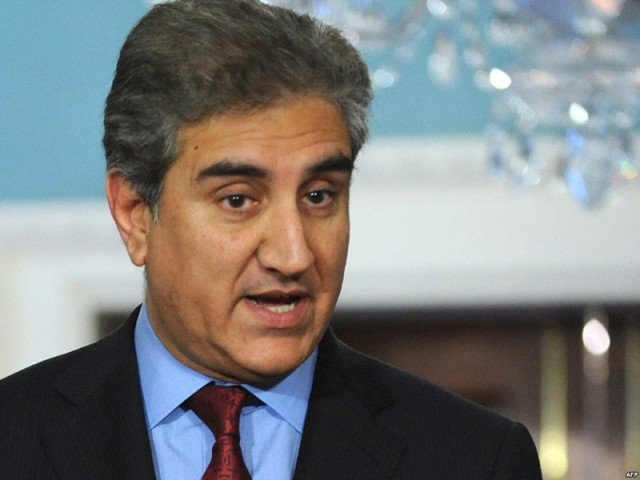 Foreign Minister Shah Mahmood Qureshi. PHOTO: FILE