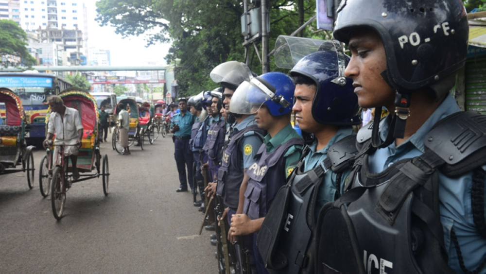 At least six people are killed in clashes over the past week of election campaigning by the opposition. PHOTO: AFP