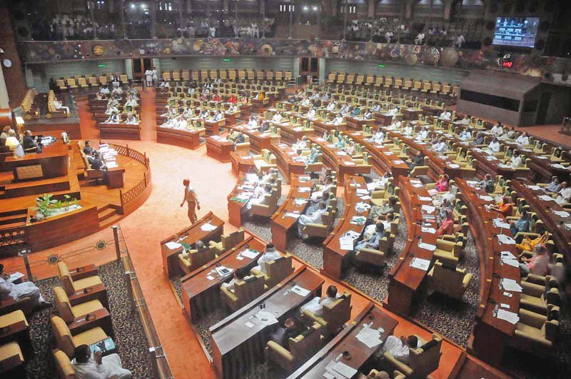 Sindh Assembly Session. PHOTO: FILE