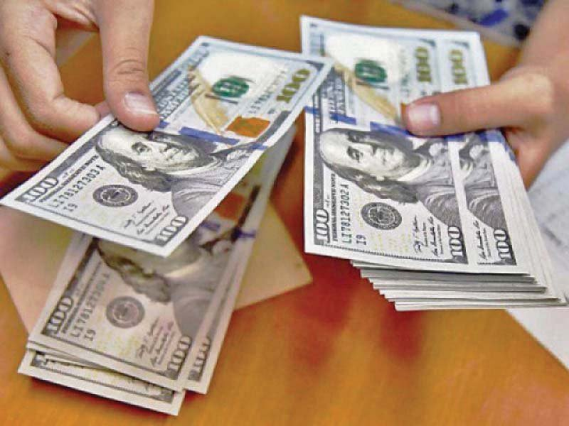 The downtrend in the value of the rupee has reflected mounting pressure on the forex reserves, which have shrunk to a critical level of $7.45 billion now despite the receipt of first two loan tranches of $1 billion each from Saudi Arabia in November and December 2018. PHOTO: FILE