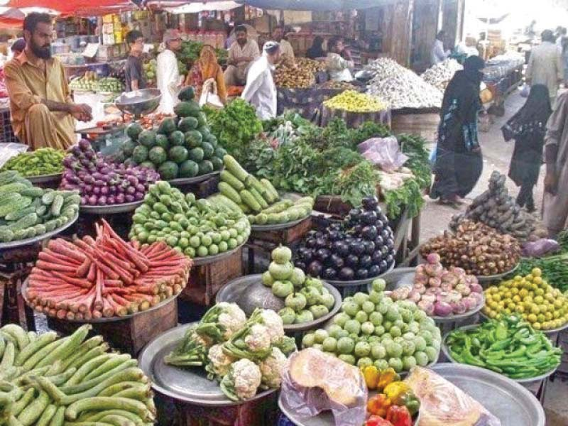 A drop in prices of perishable goods like vegetables, onion and potato provided the basis for the slowdown. PHOTO: FILE