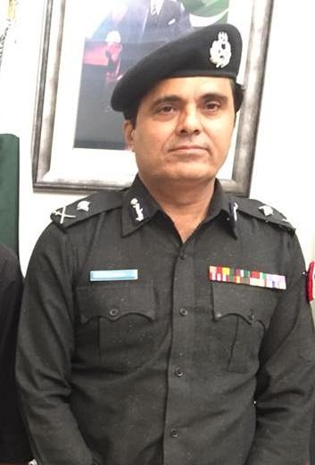Additional IGP Amir Shaikh - File photo
