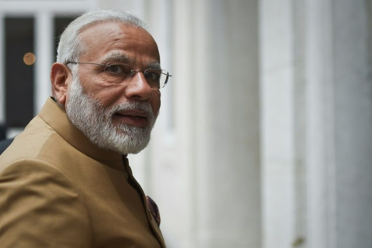 A file photo of Indian Prime Minister Narendra Modi. PHOTO: AFP