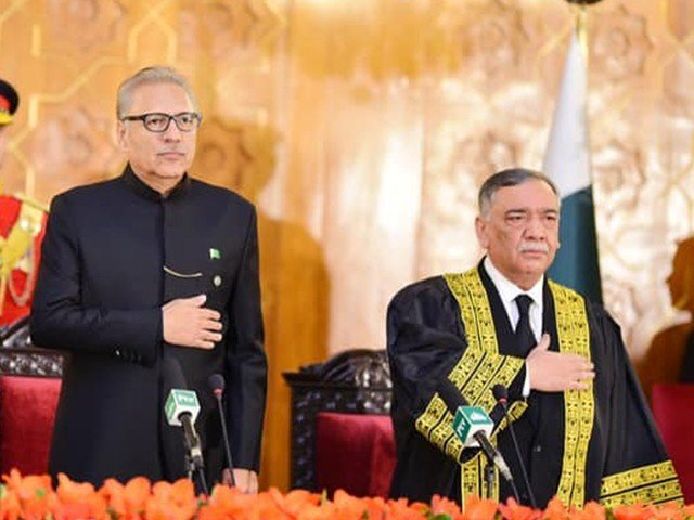 Khosa takes oath as new Chief Justice. PHOTO:EXPRESS