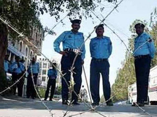 Islamabad police launch a special crackdown against those involved in supplying drugs at educational institutions. PHOTO: AFP