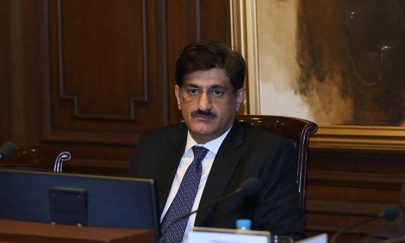 Sindh CM Murad Ali Shah. PHOTO: PPP/ TWITTER