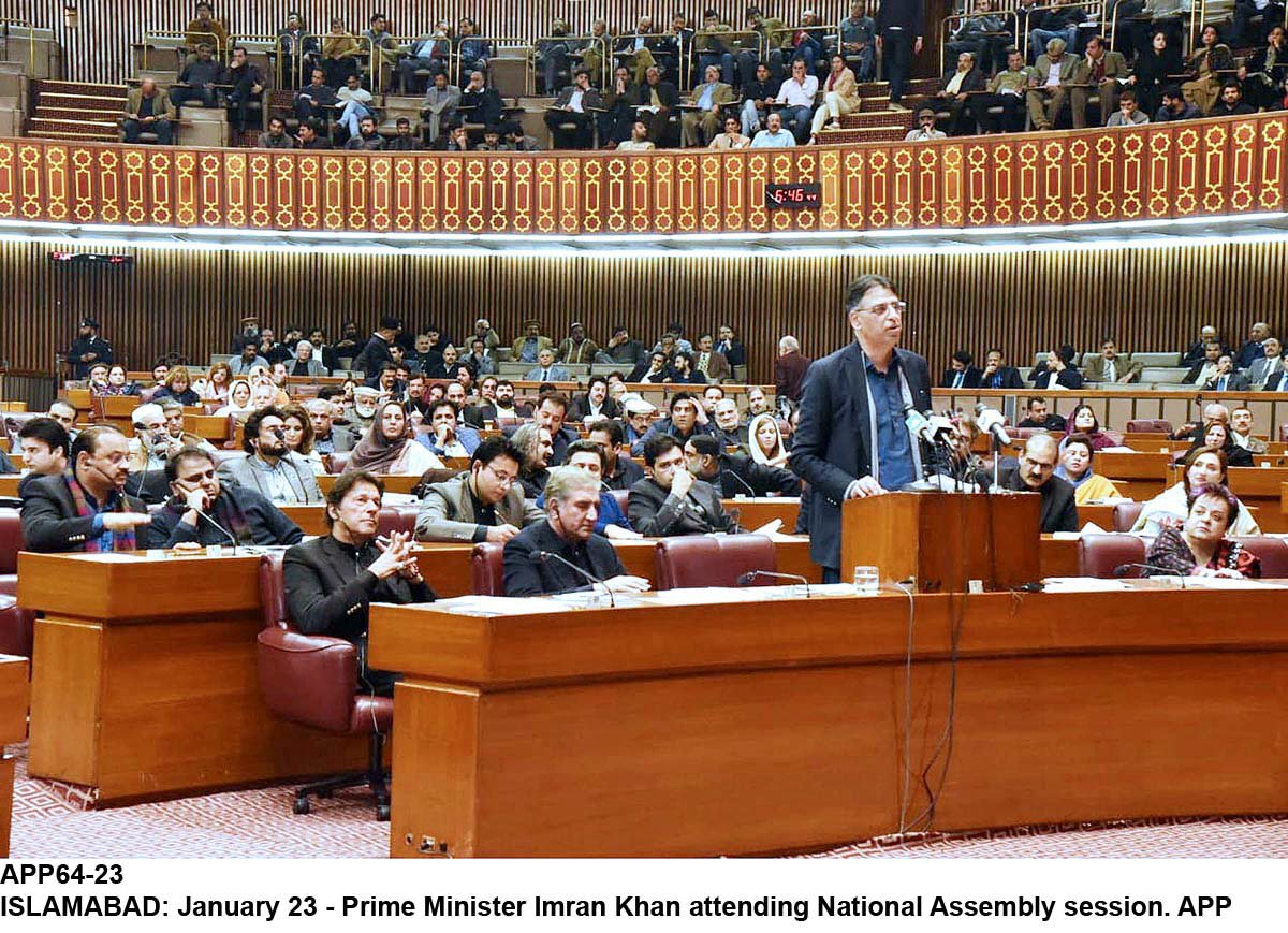 Mini-Budget presented by Asad Umar on Jan 23, 2019: PHOTO:APP