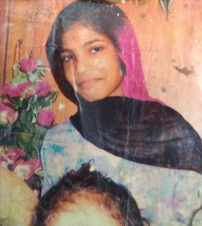 Housemaid Uzma Bibi. PHOTO: EXPRESS