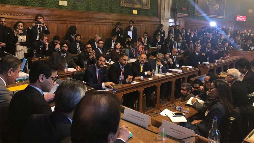 Kashmir Conference at House of Commons. PHOTO: RADIO PAKISTAN