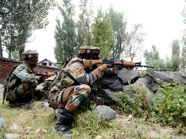 Light and heavy artillery were used by the Indian forces to target the civilian population. PHOTO: FILE