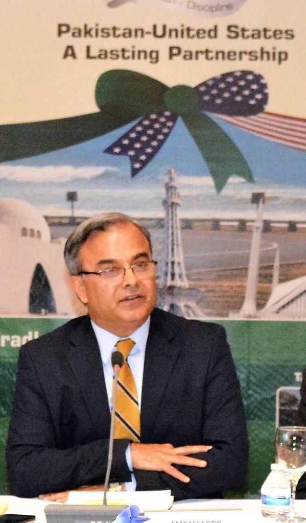 There is perhaps no other country better placed than the United States to be able to play some role, says Asad Majeed.  PHOTO: EXPRESS