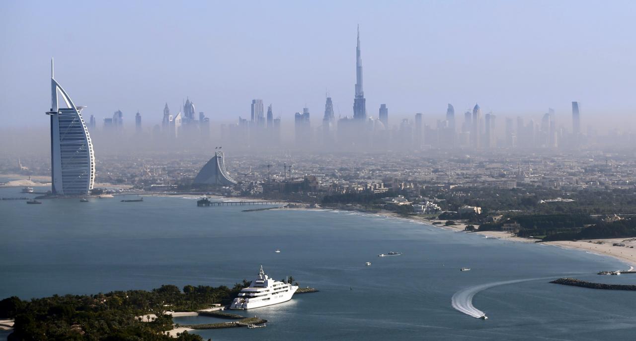 Dubai skyline. PHOTO: REUTERS