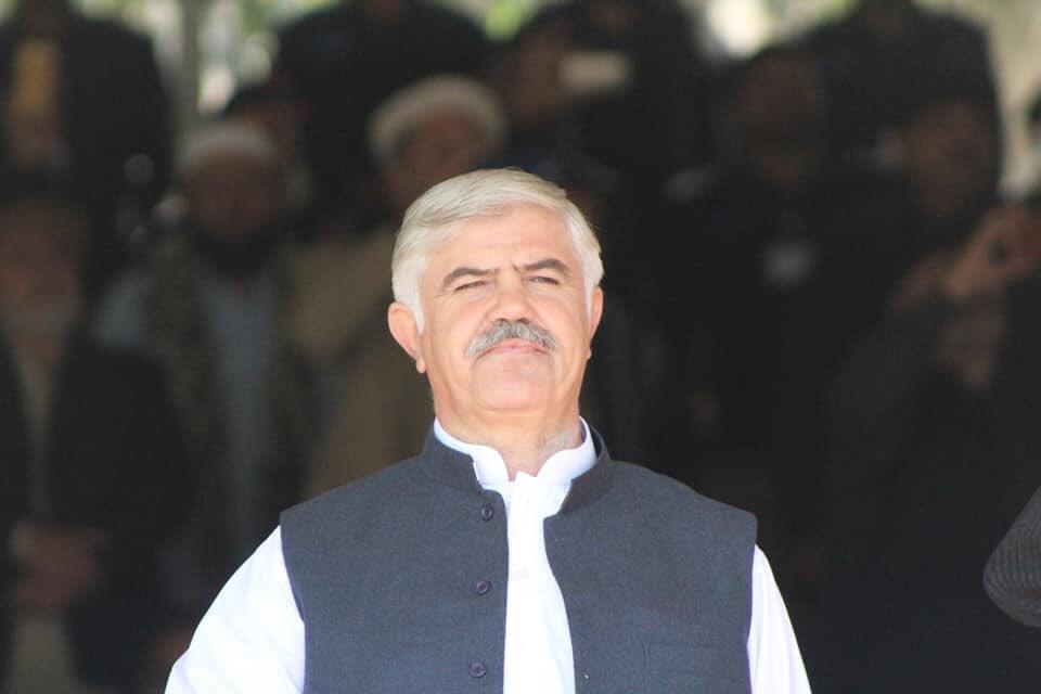 Khyber Pakhtunkhwa Chief Minister Mahmood Khan. PHOTO: PTI