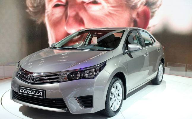 Toyota Corolla. PHOTO: REUTERS