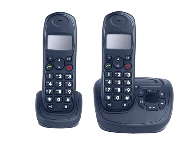 A regulatory duty of  Rs 180- Rs 18,500 has been imposed on each set of cordless sets. PHOTO COURTESY: GULF NEWS