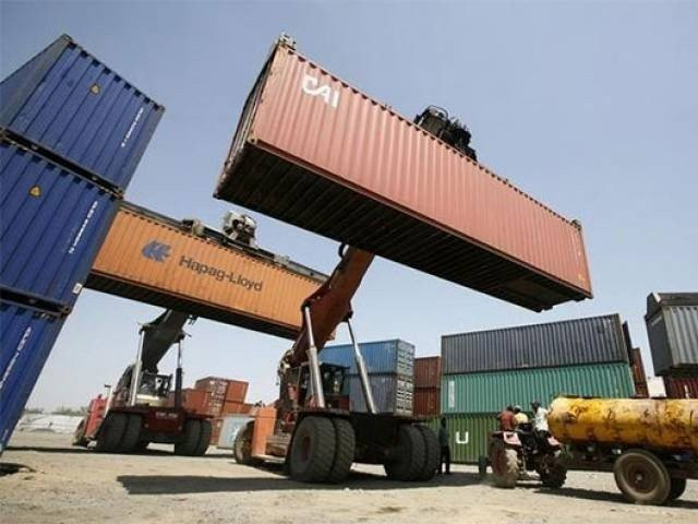 Imports show steep fall but exports remain sluggish despite subsidies for exporters. PHOTO: FILE