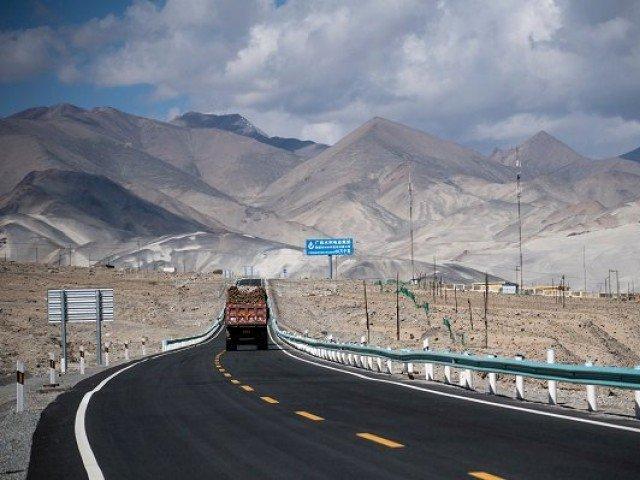 CPEC route. PHOTO: REUTERS