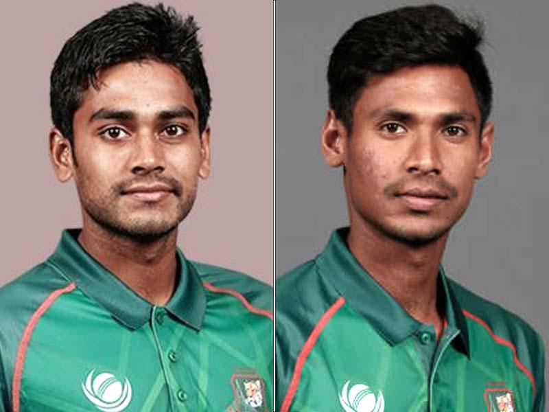 Mehidy Hasan and Mustafizur Rahman. PHOTO: FILE