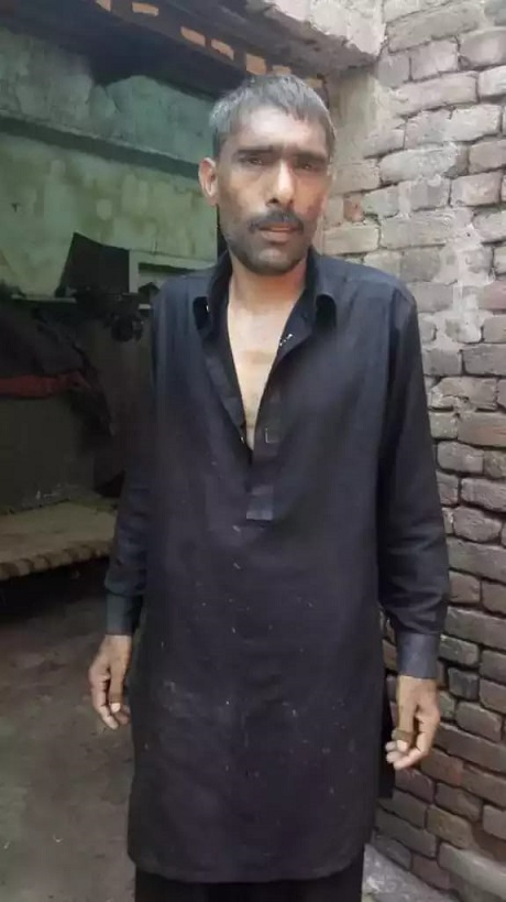 Iqbal, a resident of Sialkot, had been missing for the past two years.PHOTO: EXPRESS