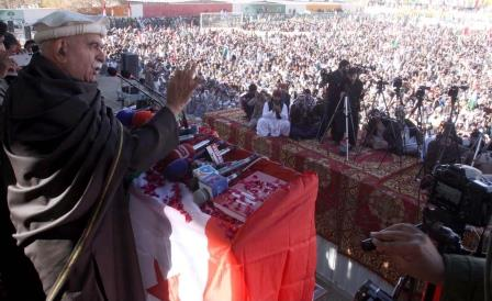 PkMAP urges Pashtuns to unite for addressing challenges. PHOTO: INP