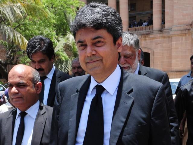 Law Minister Farogh Naseem. Photo:AFP
