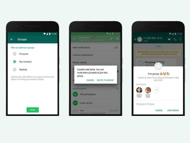 WhatsApp groups play a huge role in the success of the app in recent times where coworkers, friends and family are all connected via one channel. PHOTO: WHATSAPP