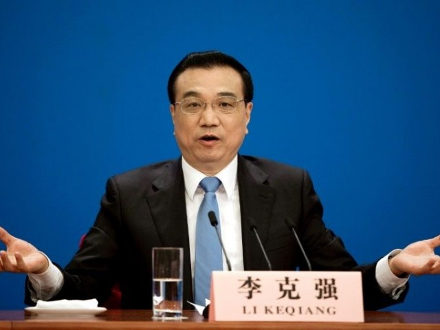 Chinese premier says both sides need to jointly uphold multilateralism, free trade.  PHOTO: FILE
