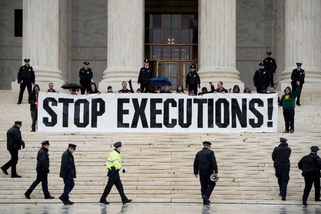 'Slowly but steadily, global consensus is building towards ending the use of the death penalty.'   PHOTO: AFP
