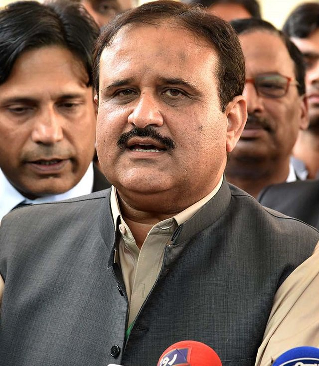 A file photo of Punjab Chief Minister Usman Buzdar.