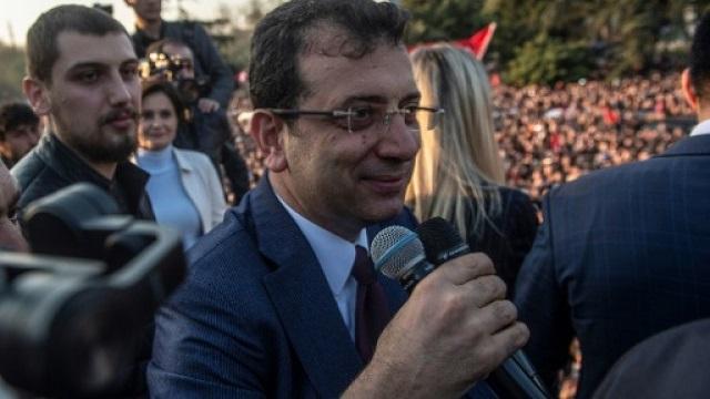 Ekrem Imamoglu delivered a stinging setback to Erdogan's ruling party. PHOTO: AFP