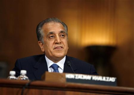 United States Special Envoy Zalmay Khalilzad. PHOTO: REUTERS