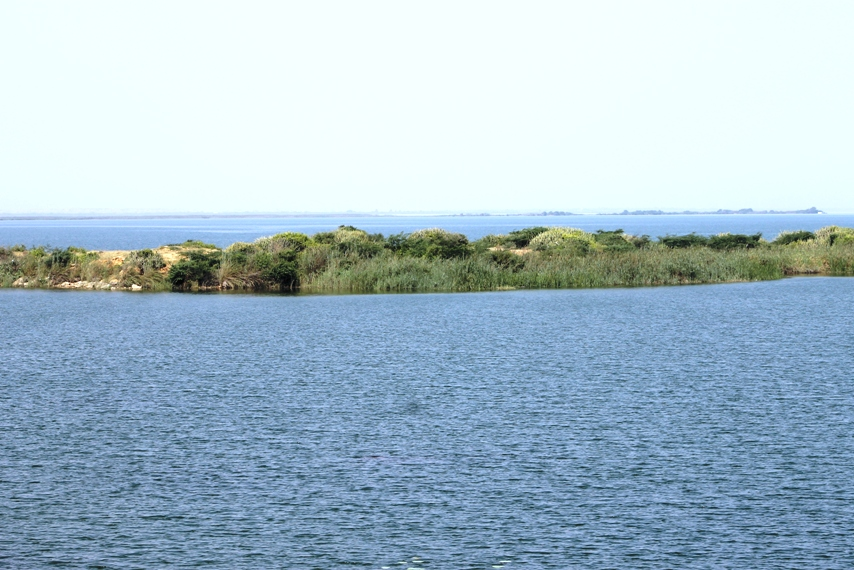 Keenjhar Lake, located 122km away from Karachi is the second-largest fresh water lake in Pakistan. PHOTO: SARAH MUNIR