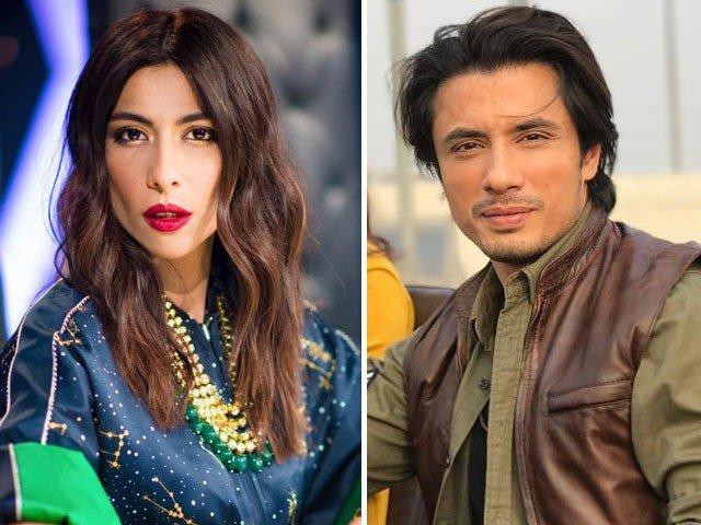 Meesha Shafi and Ali Zafar.