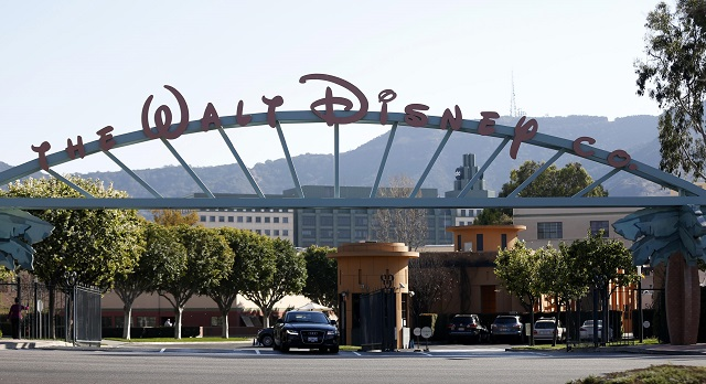 The entrance gate to The Walt Disney is pictured in Burbank, California February 5, 2014. PHOTO: REUTERS