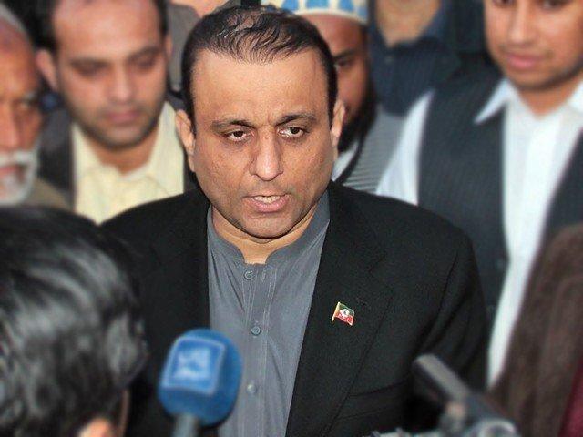 PTI leader Aleem Khan. PHOTO: FILE
