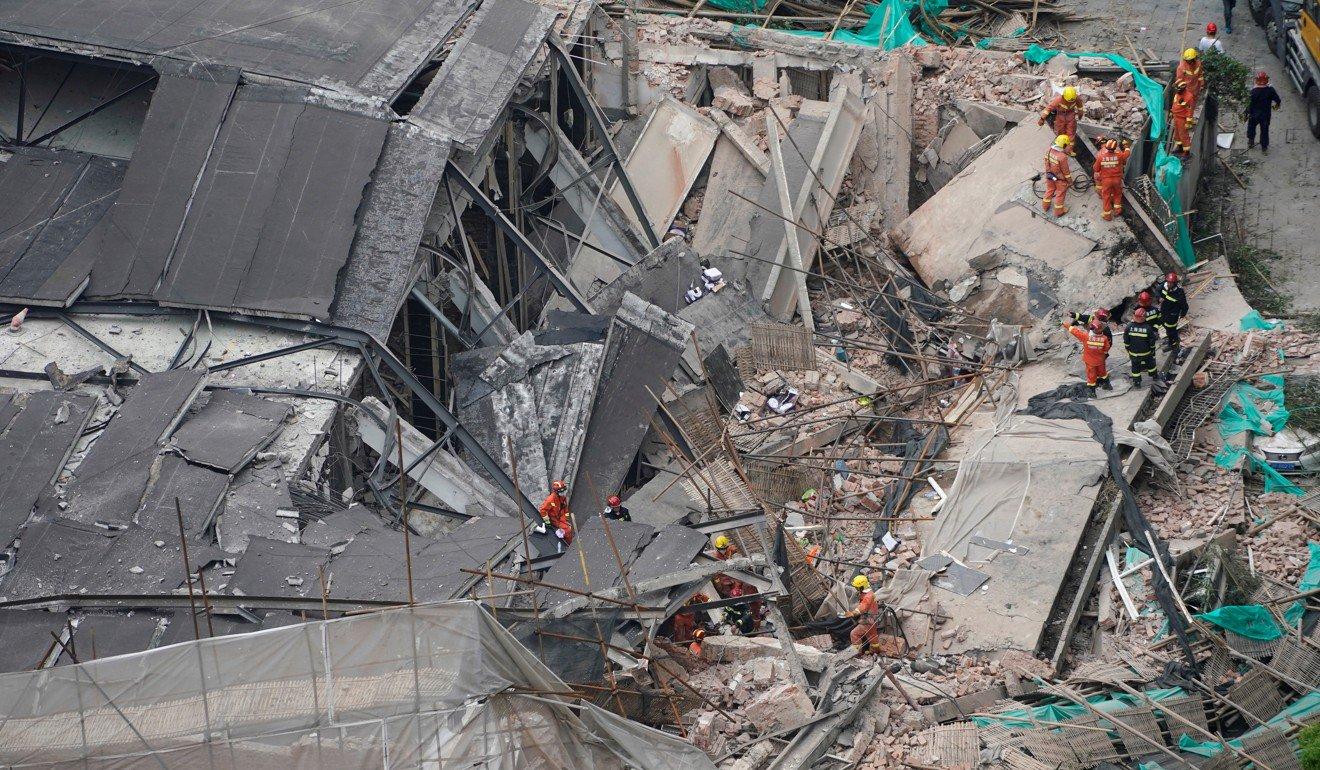 Five of those pulled from the rubble were later confirmed to have died. PHOTO: REUTERS