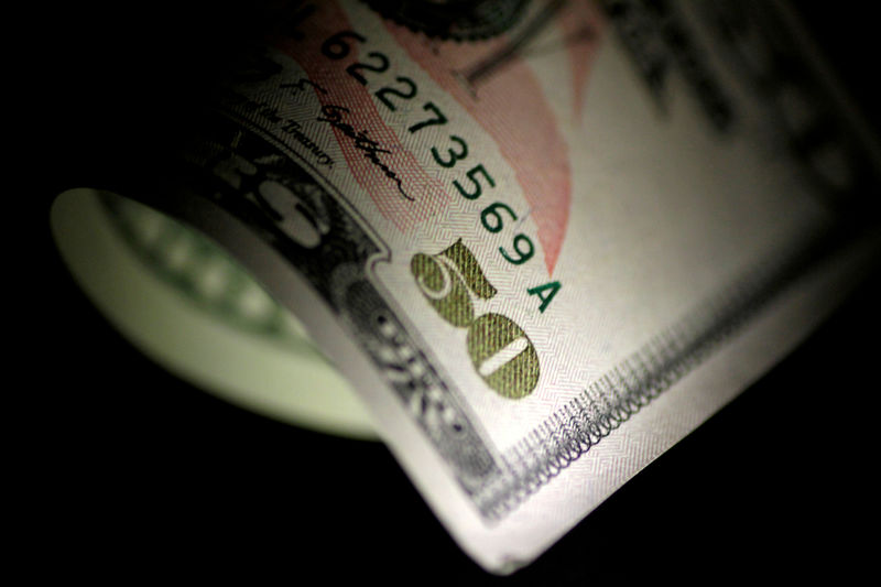 A US Dollar note is seen in this Reuters illustration photo.