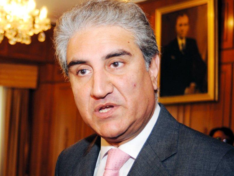FM Shah Mahmood Qureshi. PHOTO: AFP