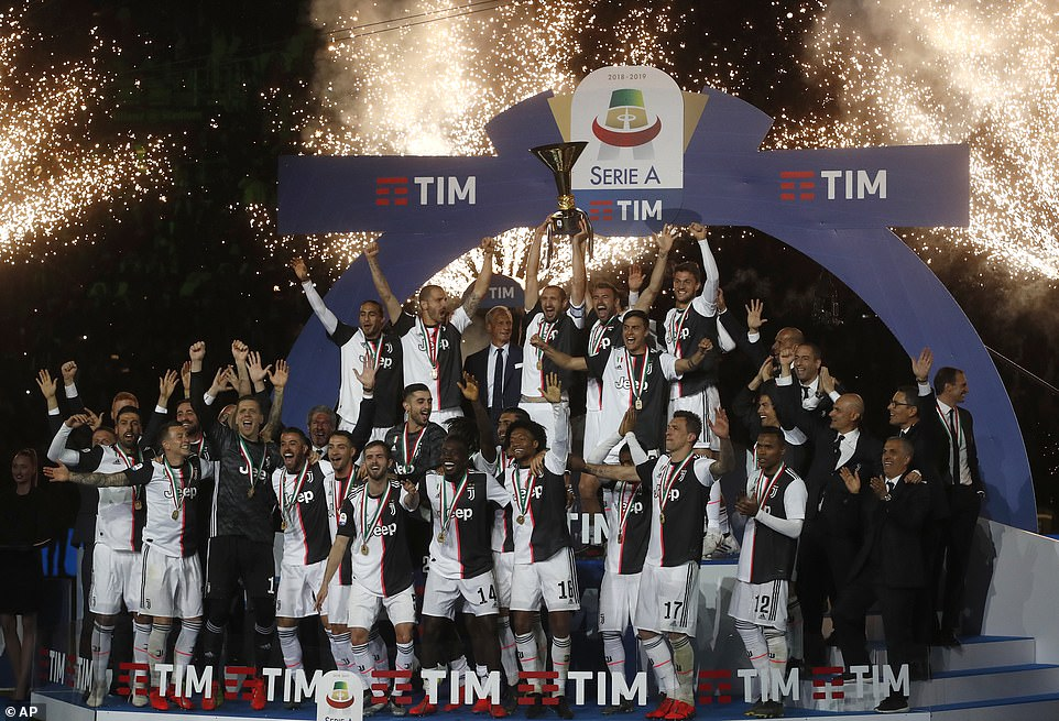 Juventus are targetting a 36th Scudetto but their main objective remains the Champions League which they have not won since 1996. PHOTO: AFP