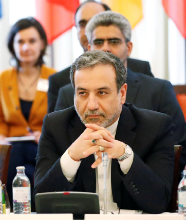 Iran's top nuclear negotiator Abbas Araqchi attends a meeting of the JCPOA Joint Commission in Vienna.PHOTO: REUTERS