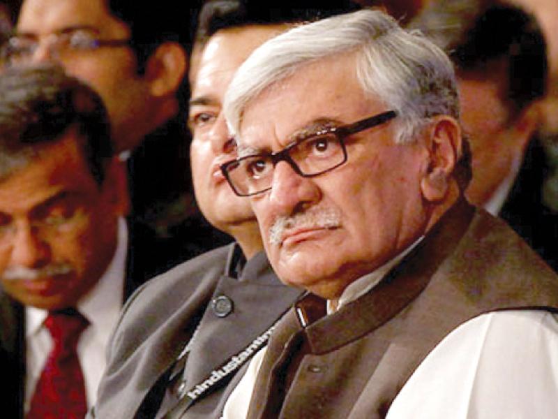 President of ANP, Asfandyar Wali Khan. PHOTO: FILE