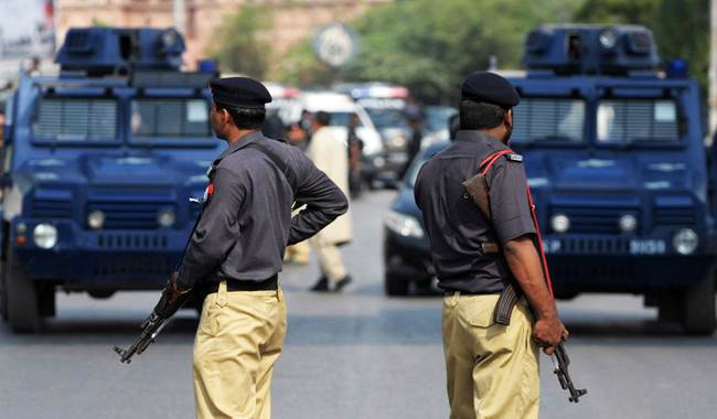 Sindh police PHOTO: FILE