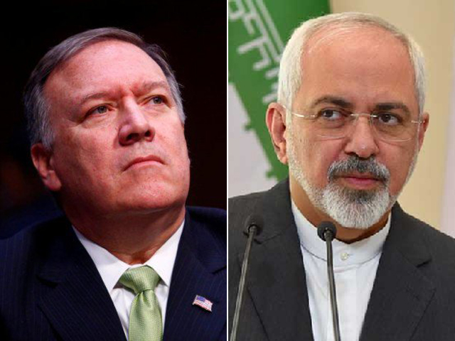 Iranian FM Zarif says 'blaming Tehran won't end the disaster, but accepting its proposal for talks may'. FILE PHOTOS