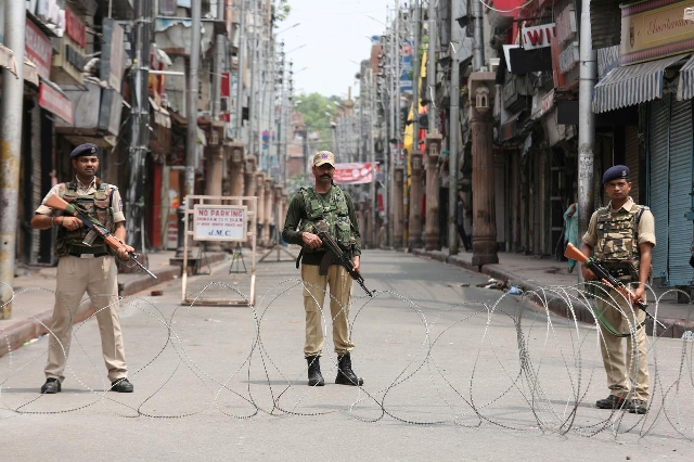 Indian-occupied Kashmir. PHOTO: Reuters
