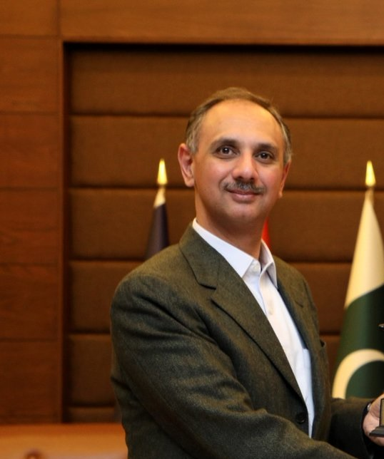 Federal Minister for Power Omar Ayub Khan. PHOTO: TWITTER/ Omar Ayub Khan