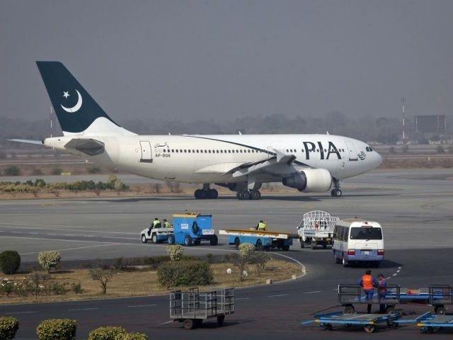 A Pakistan International Airline carrier. PHOTO: REUTERS